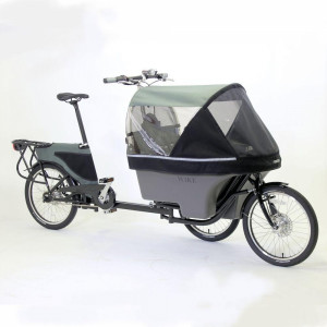 Wike-Salamander-Stroller-bike-black-front